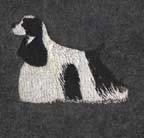 Cocker Spaniel embroidery