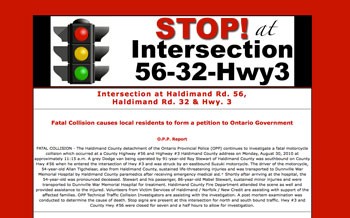 Intersection 56-32-3 website design