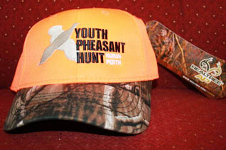 Youth Pheasant Hunt embroidered hats